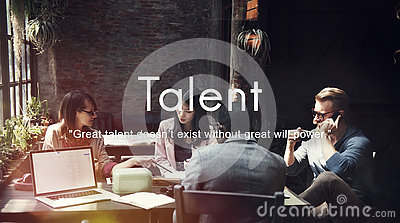 Talent Skills Abilities Expertise Professional Concept Stock Photo