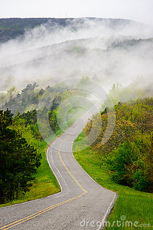Free Talimena Scenic Drive Royalty Free Stock Photo - 65043475