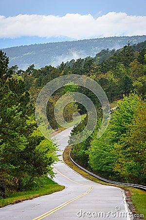 Free Talimena Scenic Drive Royalty Free Stock Photos - 65043478