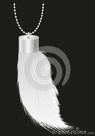 Talisman charm rabbit foot