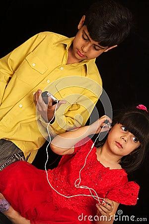 Talk on phone