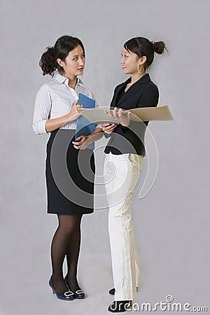 Talk to female staff