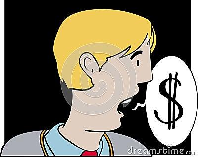 Talking dollars