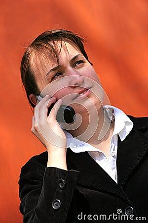 Talking mobile phone