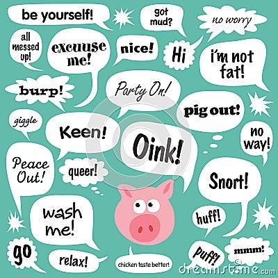 Talking Pig