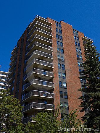 Tall apartment building Residential architec
