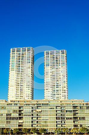 Tall Apartment Buildings