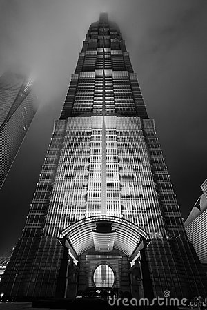 Tall Building in Shanghai