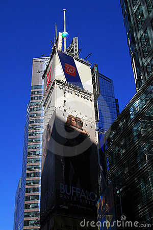 Free Tall Buildings At Times Square In NYC Stock Photo - 18865360