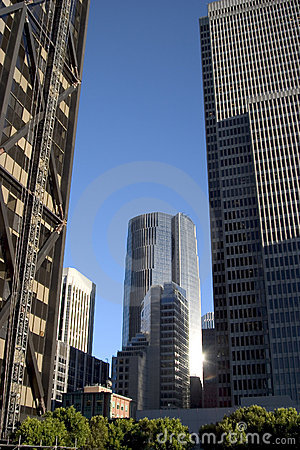 Tall buildings Downtown