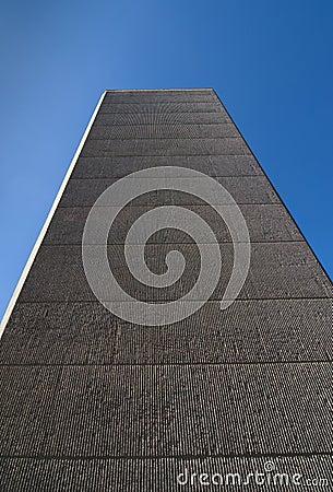 Tall concrete building