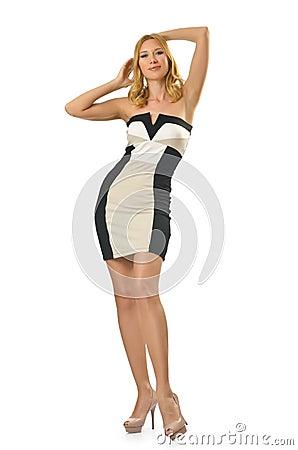 Tall girl - fashion concept