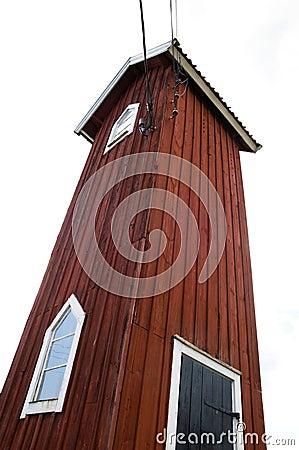 Tall house