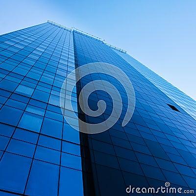 Tall modern office