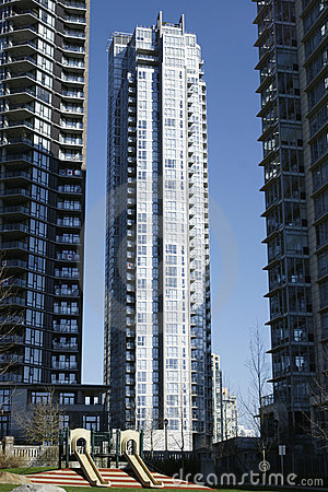 Tall Residential Tower Vancouver