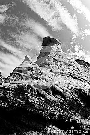 Tall rocks