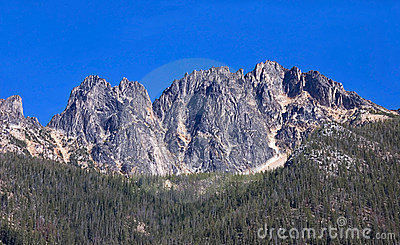 Tall Rugged Mountain