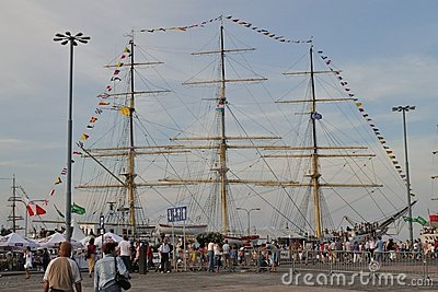 Tall Ship Editorial Stock Image