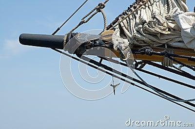 Tall Ship Detail