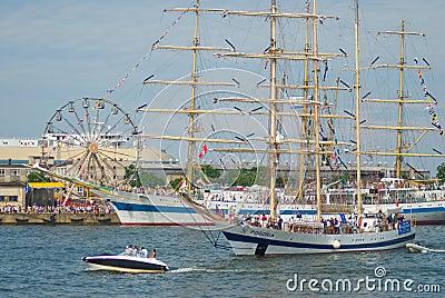 Tall Ship Races - Gdynia - Poland 04.07.2009 Editorial Photography