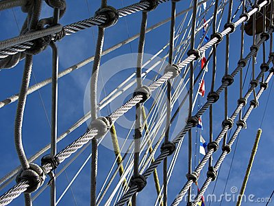 Tall Ship Rigging Rope