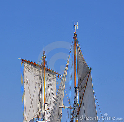 Tall ship sail