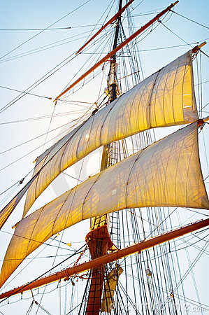 Free Tall Ship Sails Stock Photo - 16024220