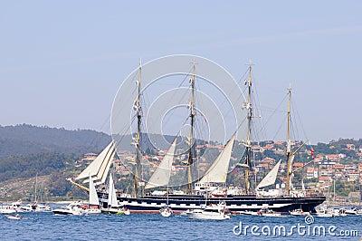 Tall Ships Atlantic Challenge Editorial Photo