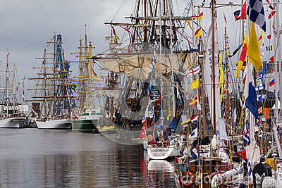 Tall Ships Race Editorial Image