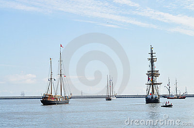 Tall Ships Races Editorial Stock Photo