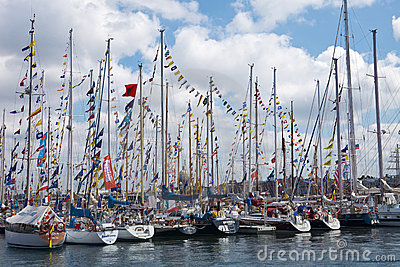 The Tall Ships Races Baltic Editorial Photography
