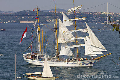 Tall Ships Regatta 2010 - Dewaruci Editorial Image