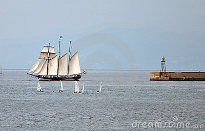 Tall Ships Regatta 2010 - The ship Oosterschelde Editorial Image