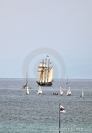 Tall Ships Regatta 2010 - The ship Oosterschelde Editorial Stock Image