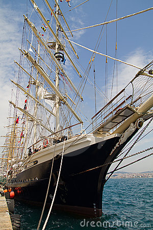 Tall Ships Regatta 2010 - Tenacious Editorial Image