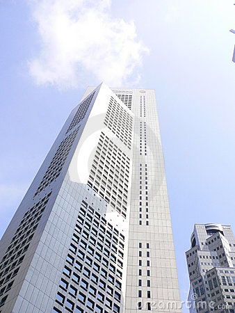 Tall Skyscraper reaching to the heavens