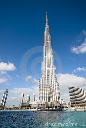 The tallest building Editorial Photo