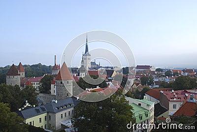 Tallin panorama