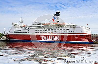 Tallink ferry Editorial Stock Photo