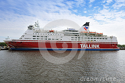 Tallink ferry Editorial Stock Photo