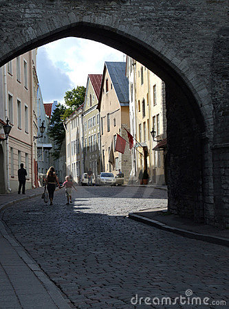 Free Tallinn - Beautiful Old Town Royalty Free Stock Images - 1632539