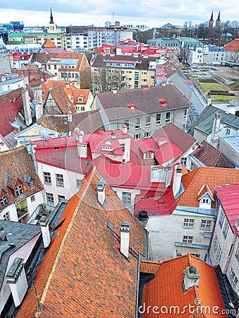 Tallinn cityscape