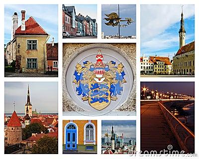 Tallinn collage