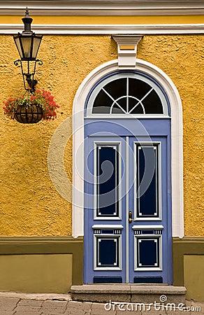Tallinn color front door