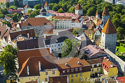 Tallinn Estland tak
