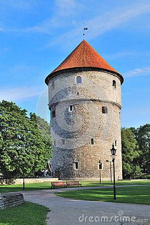 Tallinn, Estonia. Medieval tower Kiek-in-de-Kok