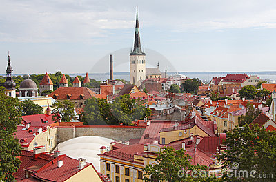 Tallinn Estonia view