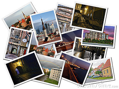 Tallinn photo collage