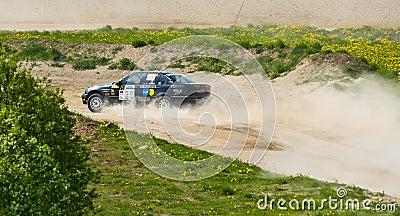 Tallinn Rally 2008 Editorial Stock Photo