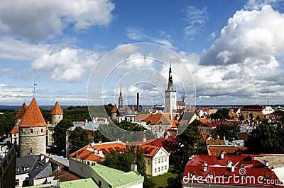 Tallinn s rooftops